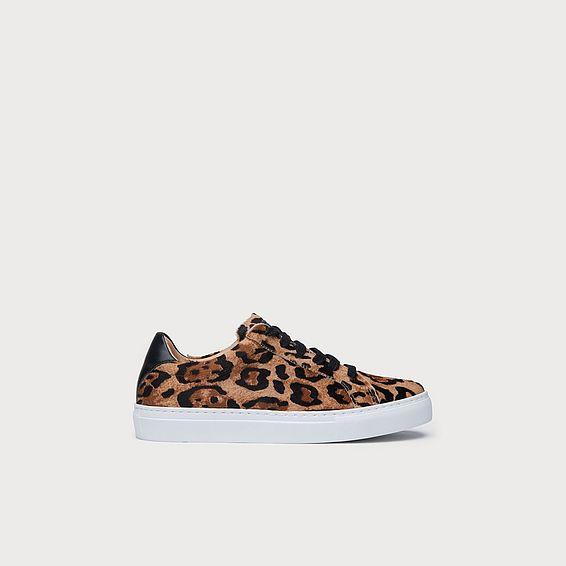 Jack Leopard Sneakers