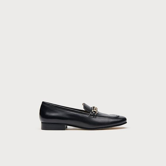 Stevie Black Loafers
