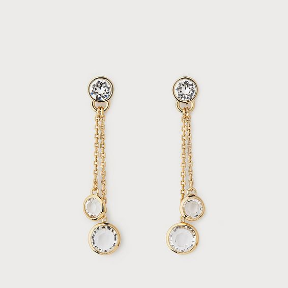 Danila Crystal Drop Earrings