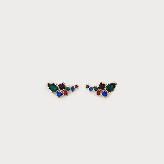 Phoebe Multicolor Crystal Earrings
