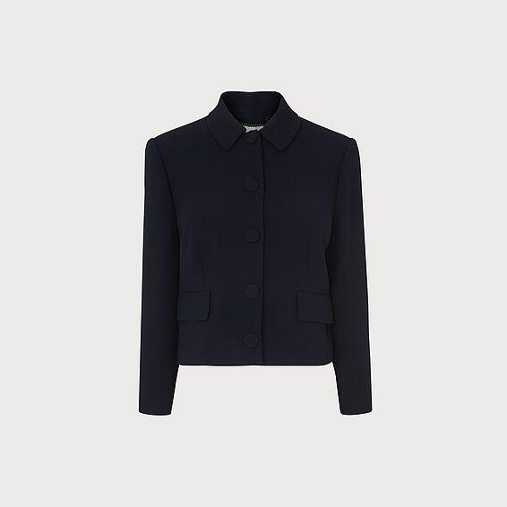 Carmel Crepe Jacket