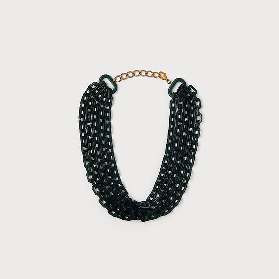 Jillian Green Link Necklace