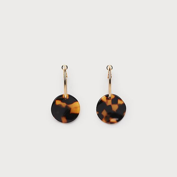 Joanna Tortoiseshell Earrings