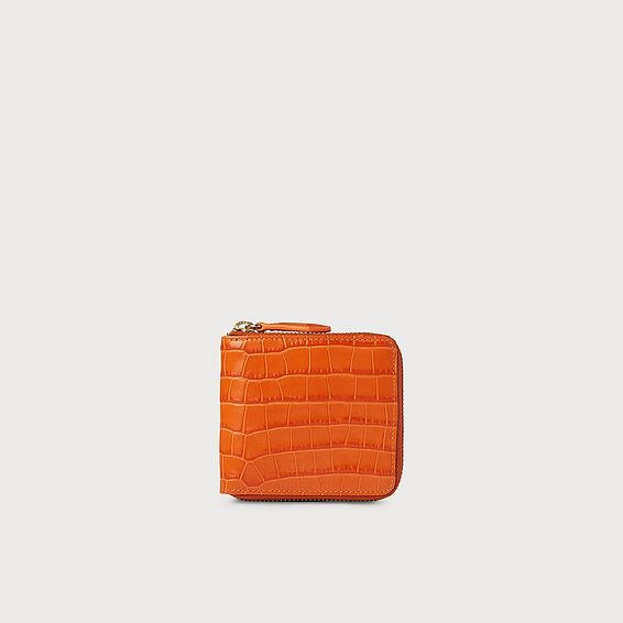 Penelope Orange Wallet
