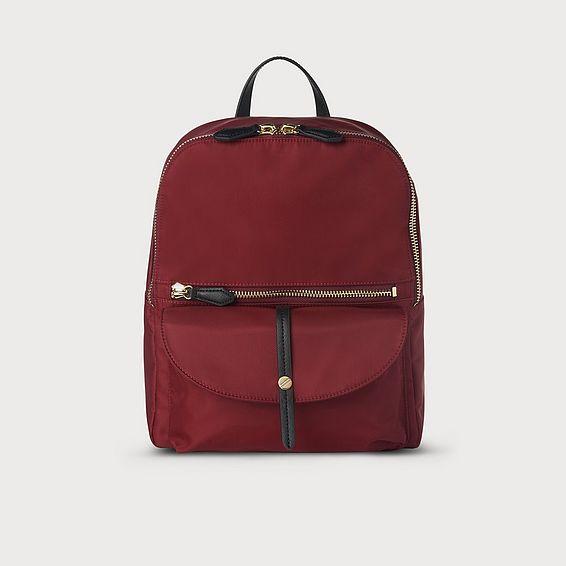 Bridget Red Backpack