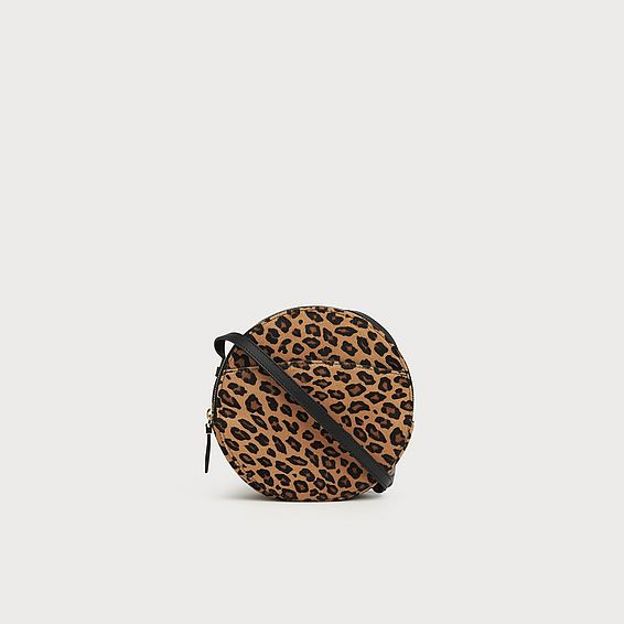 Luna Leopard Shoulder Bag