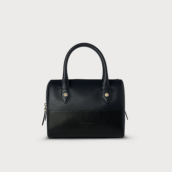 Melanie Black and Navy Bag