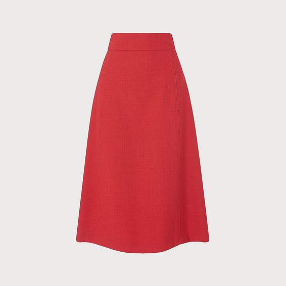 Adriana Red Skirt
