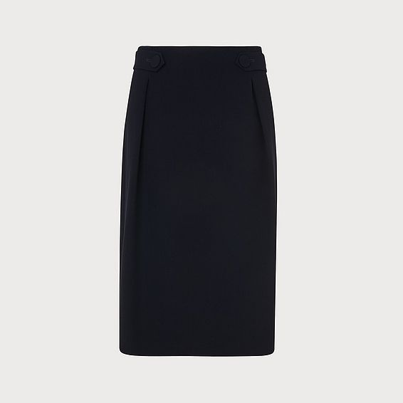 Carmel Navy Skirt