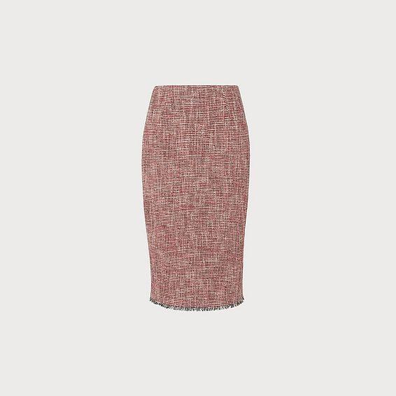Cesilia Red Skirt