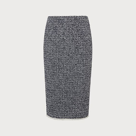 Char Tweed Skirt