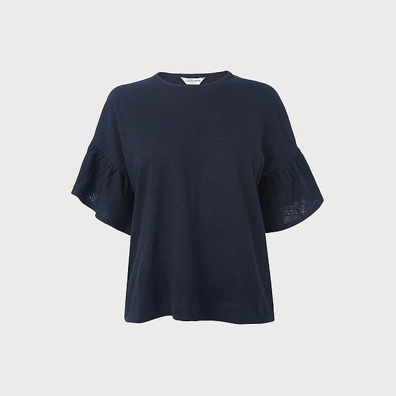 Gwyneth Navy Top