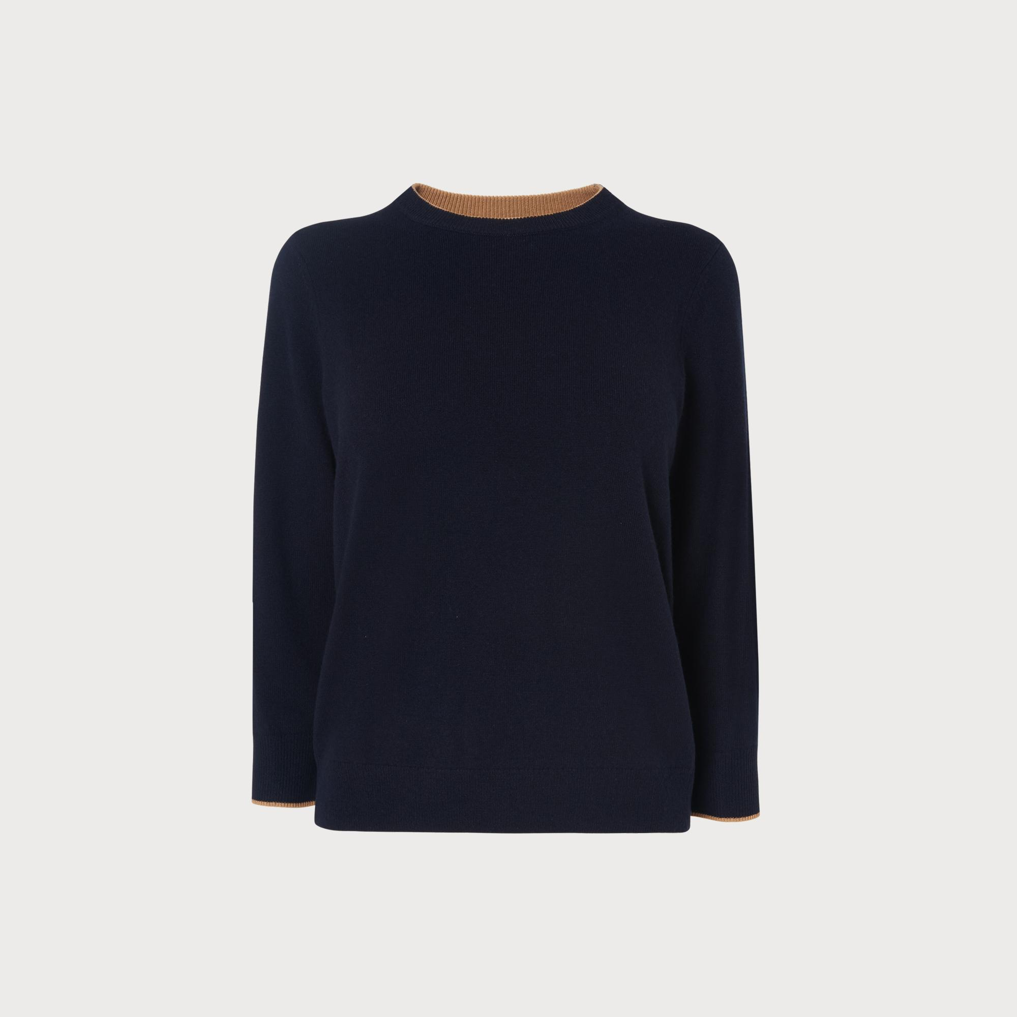 Beatrix Navy Sweater by L.K.Bennett