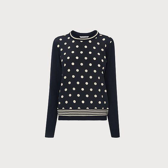 Cyrus Navy Sweater