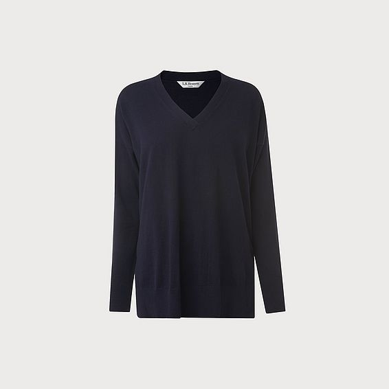 Simona Navy Sweater