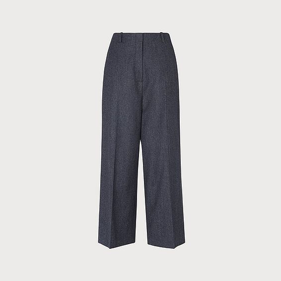 Aurore Grey Twill Pants