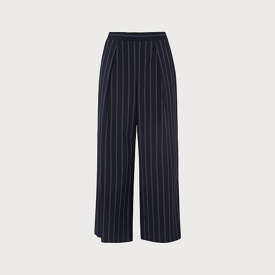 Elani Navy Stripe Pants