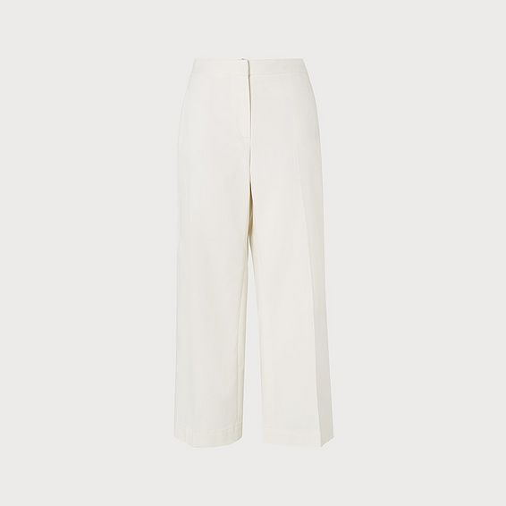 Oda Cream Denim Pants