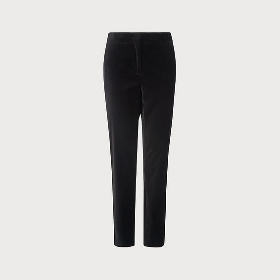 Roxane Black Velvet Pants
