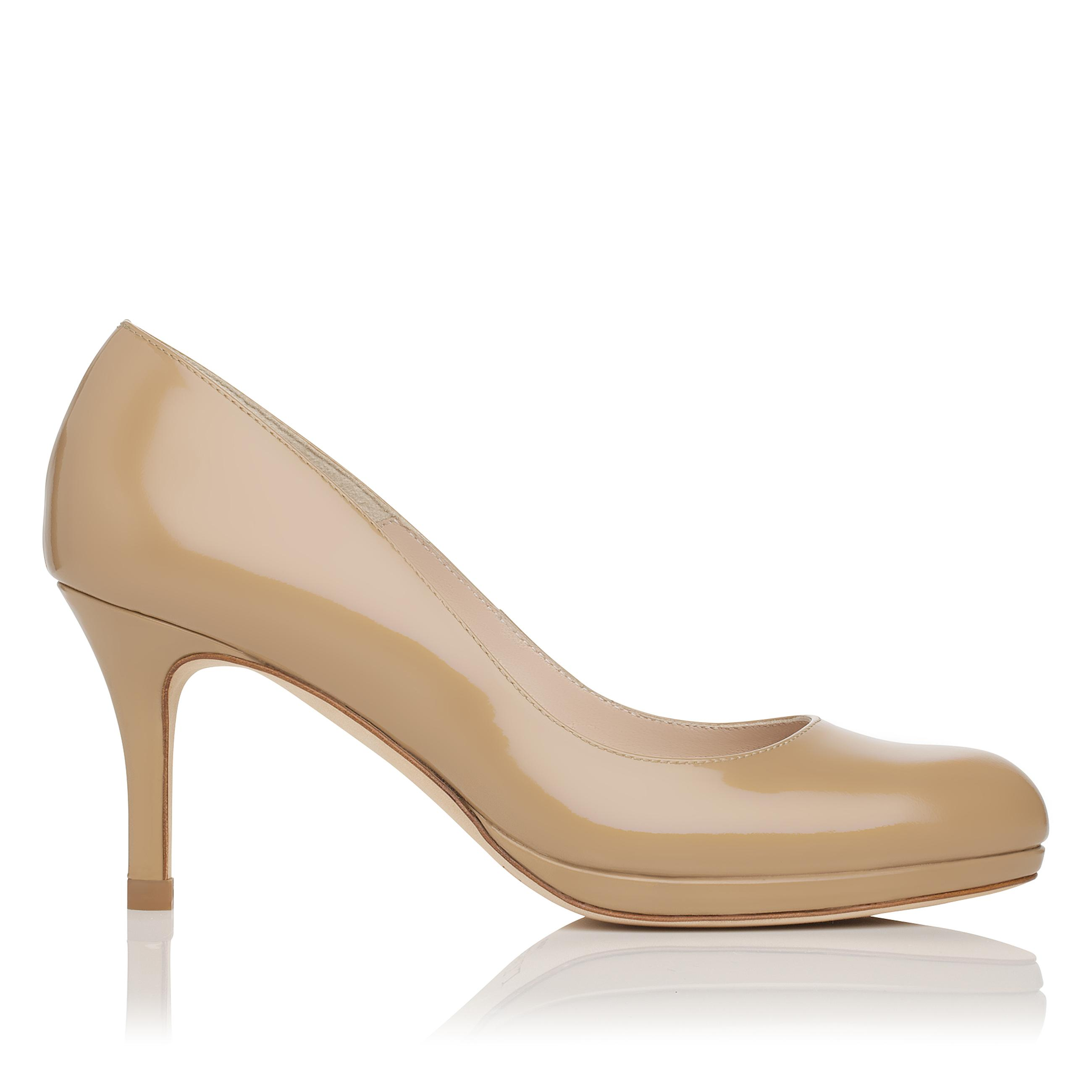 L.K.Bennett Sybila Patent Leather Platform Pump