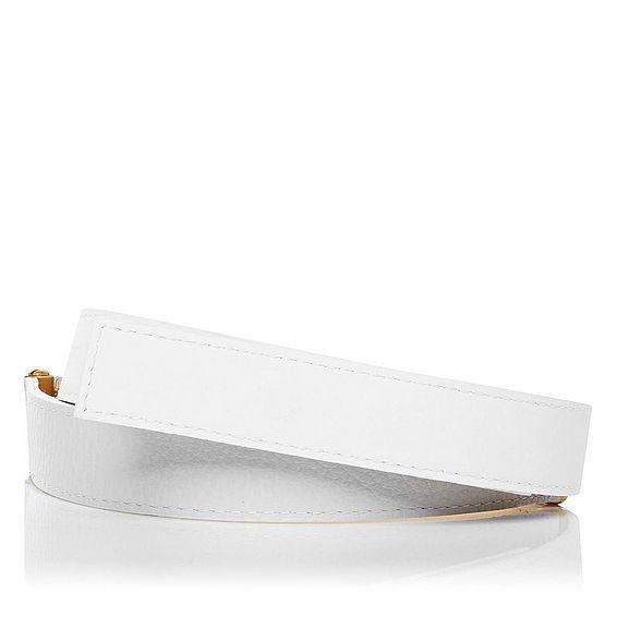 Julia Leather Hinge Detail Belt