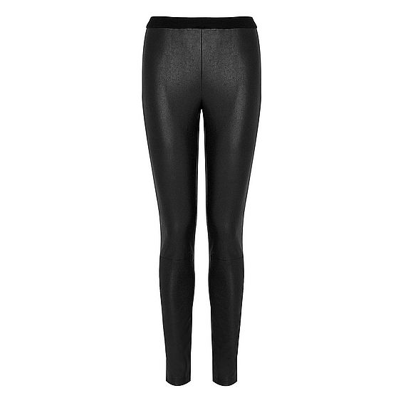 Agave Leather Effect Skinny Pants