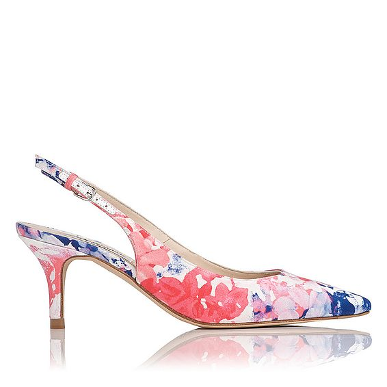 Florita Printed Slingback Heel