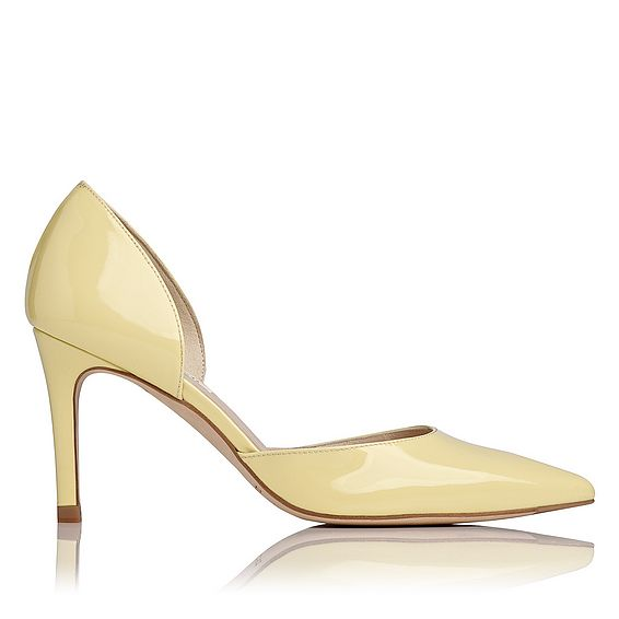 Flossie Patent Leather D'Orsay Heel