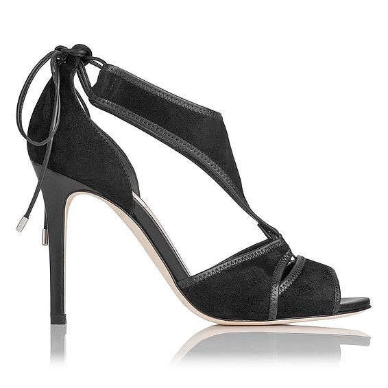 Giselle Suede Strappy Sandal