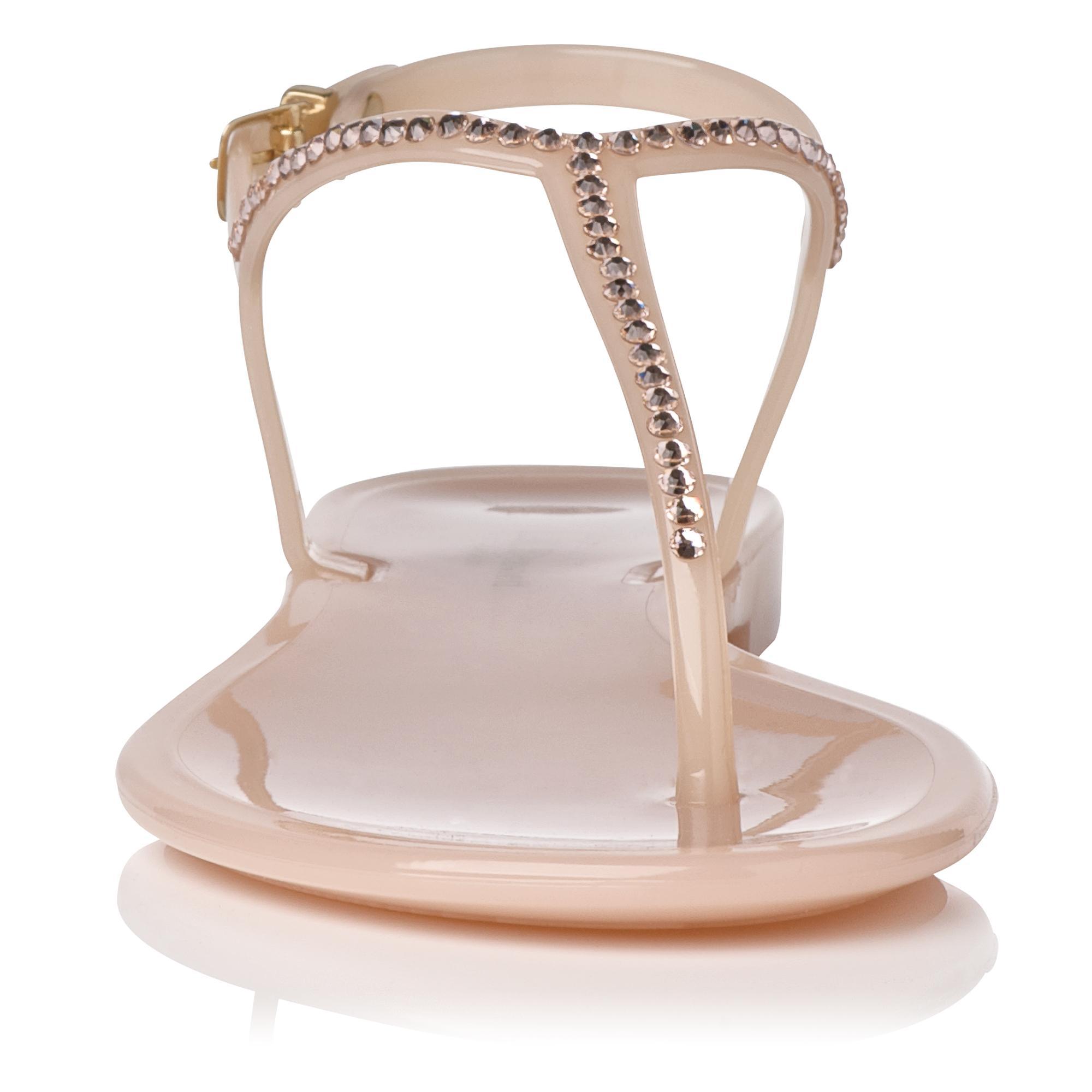 16465e7abdaa Lola Jelly Flat Sandal