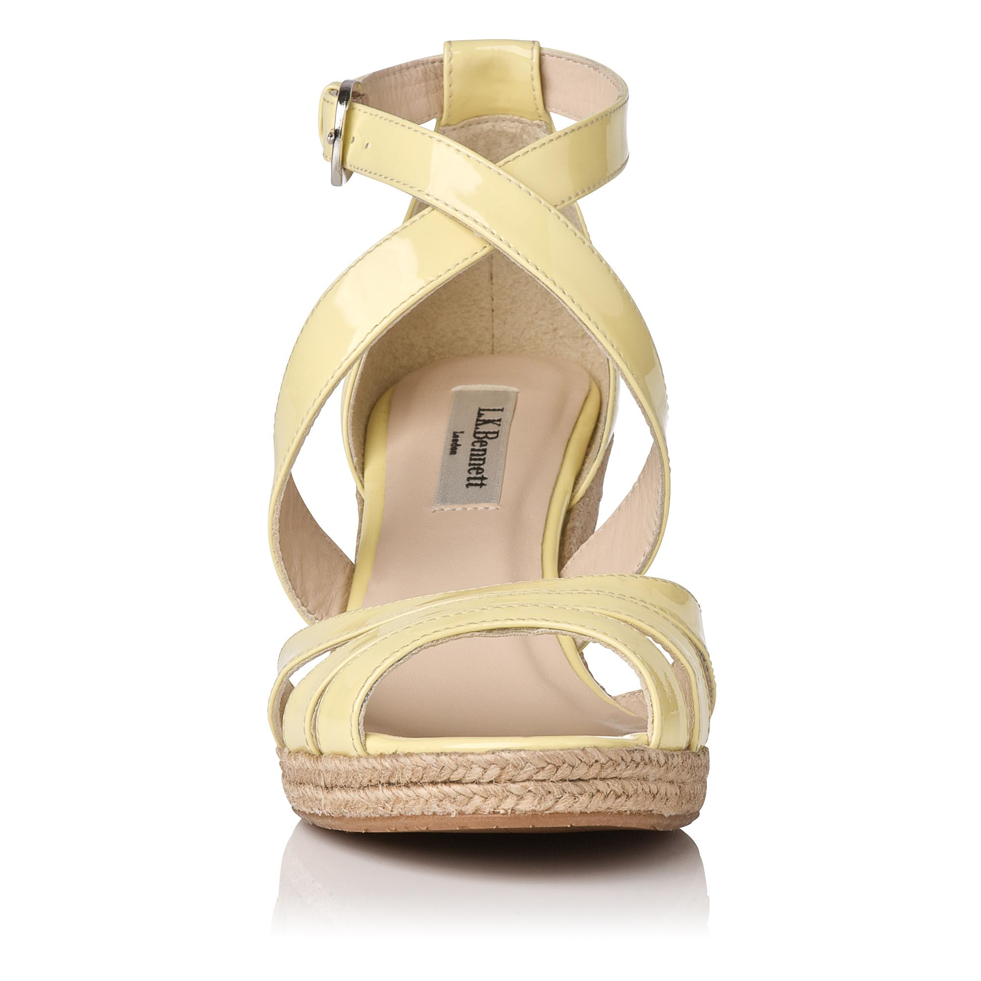 bb47fdcf112 ... Sandals  Priya Leather Espadrille Wedge. Tap to zoom