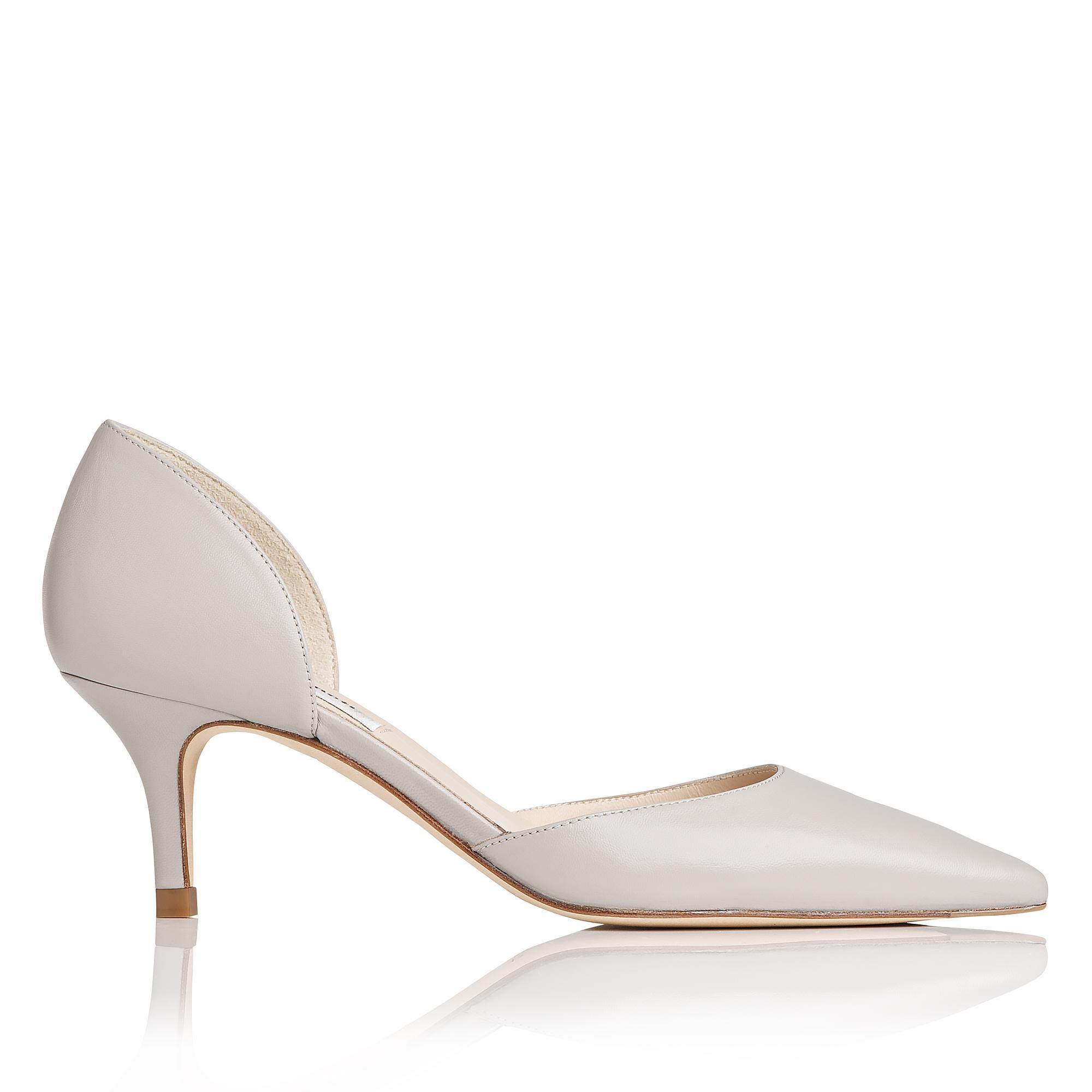 L.K.Bennett Florine Gray D Orsay Heels