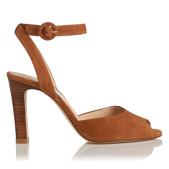 Sansa Leather High Heel Sandals