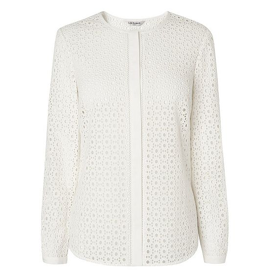 Jazz White Embroidered Shirt