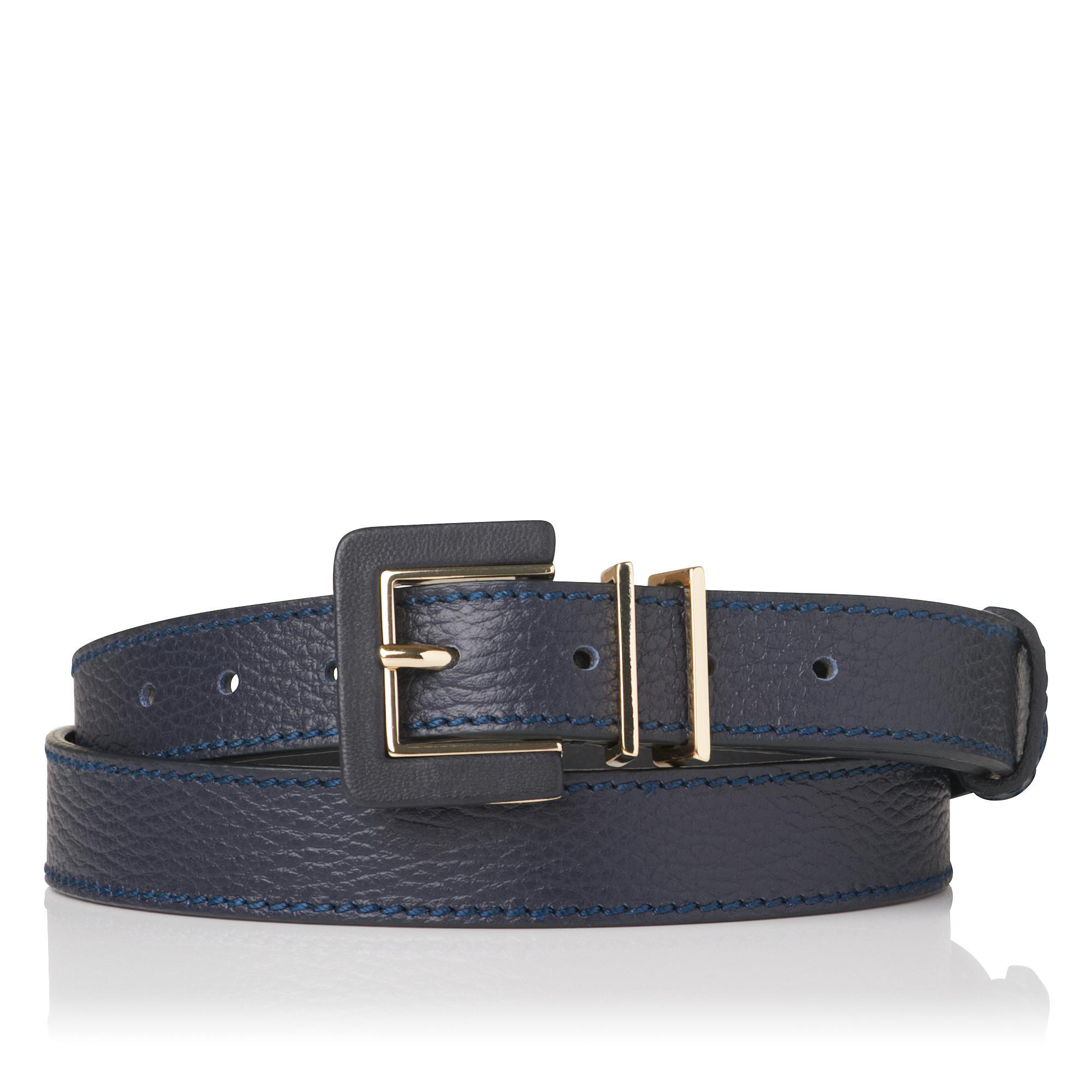 Giuly Navy Skinny Belt