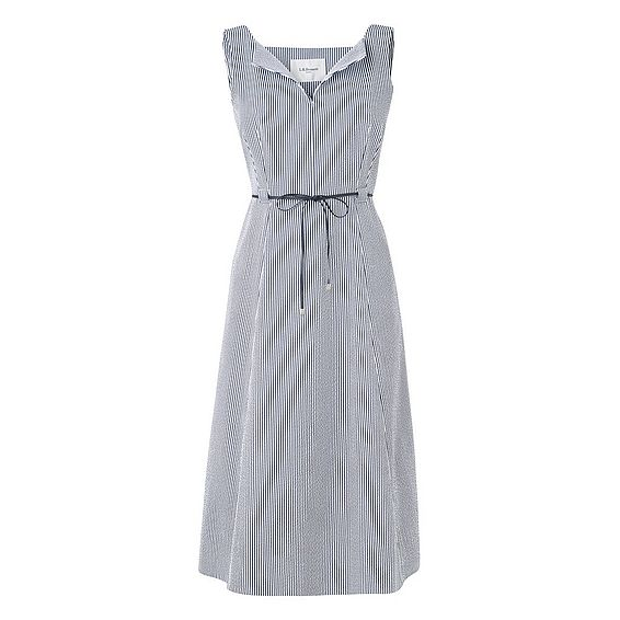 Alana Seer Sucker Dress