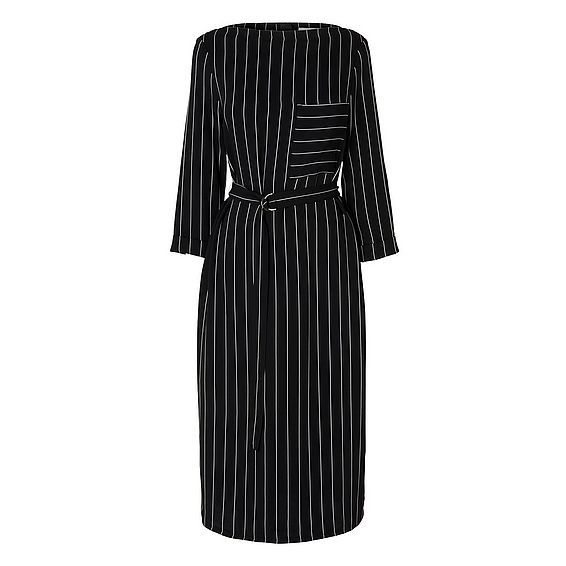 Caralyn Wide Stripe Dress