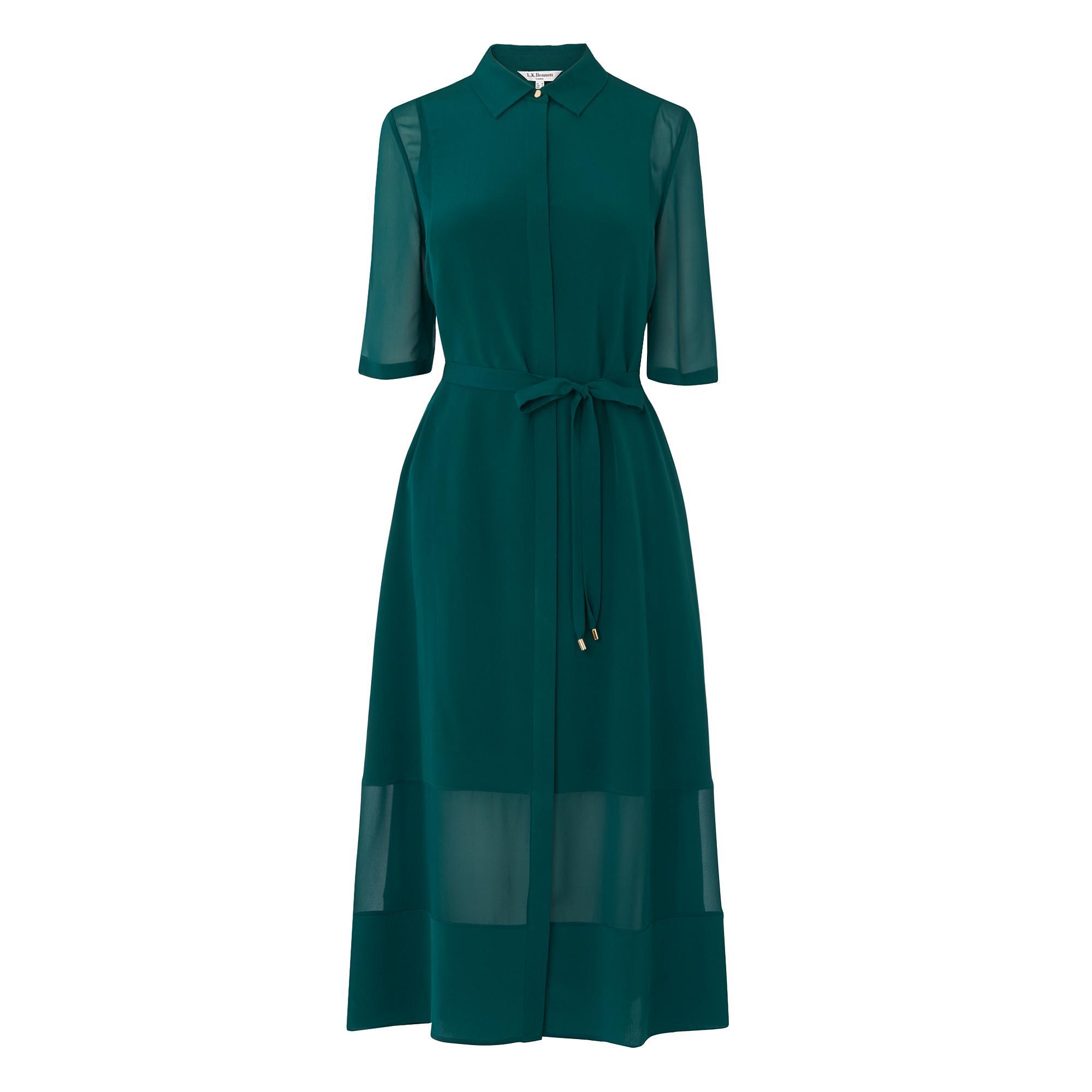 L.K.Bennett Coral Shirt Dress