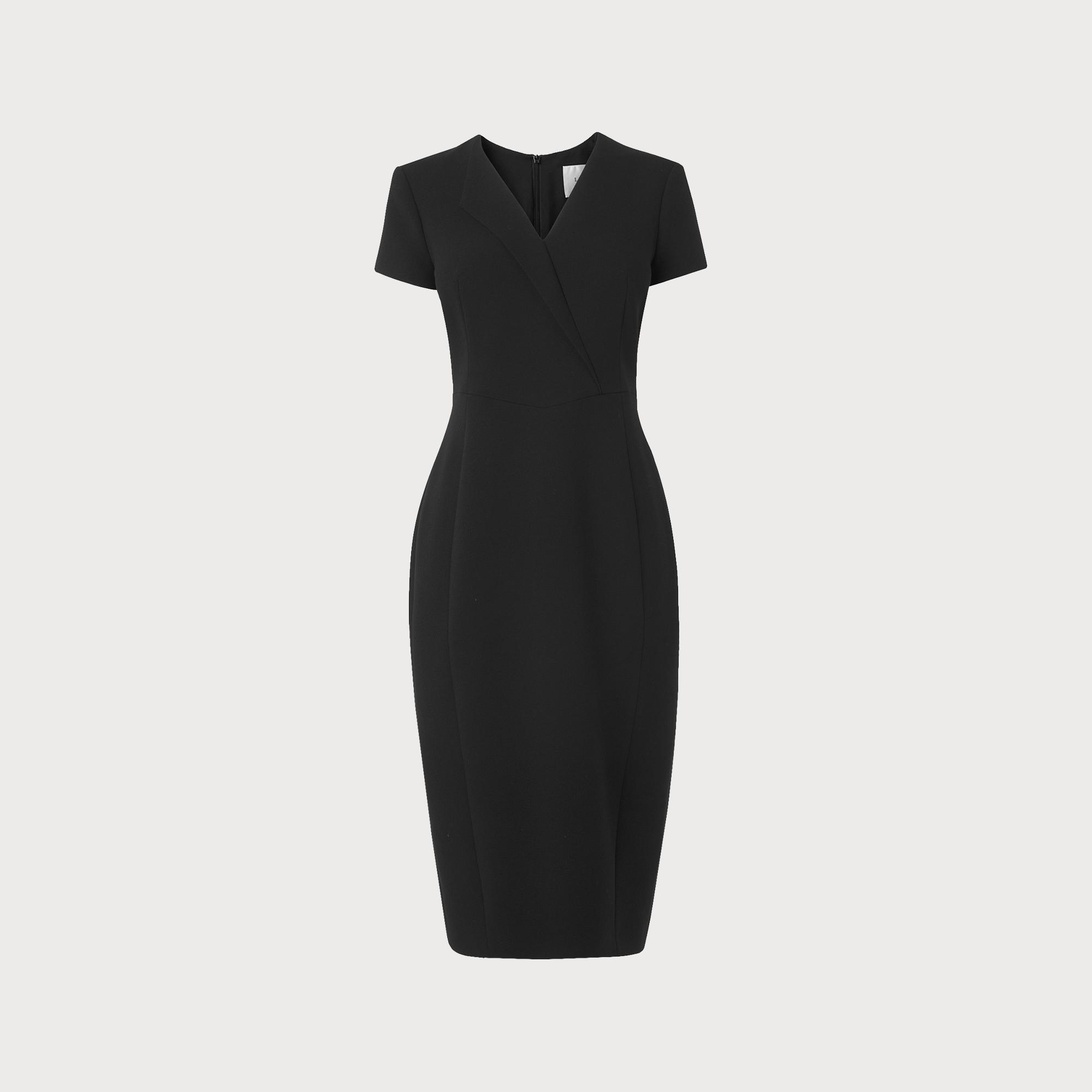 L k bennett london black dress