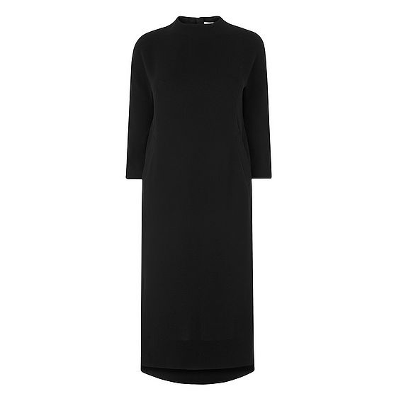 Jules Black Shift Dress