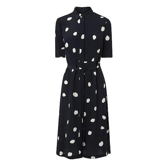 Pernila Spot Print Dress