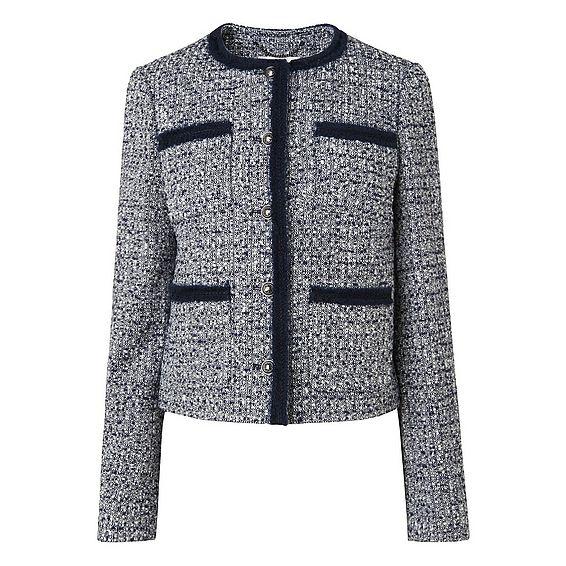Astrala Navy Tweed Jacket