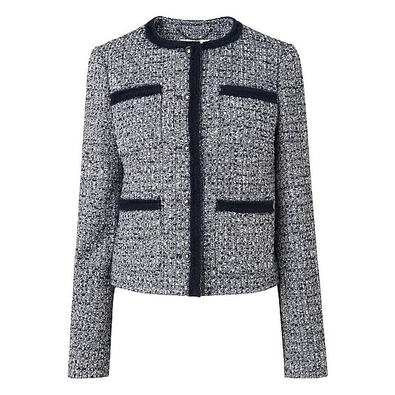 Astrala Navy Tweed Jacket