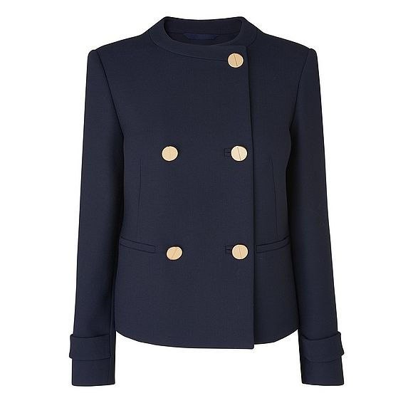 Bay Collarless Jacket
