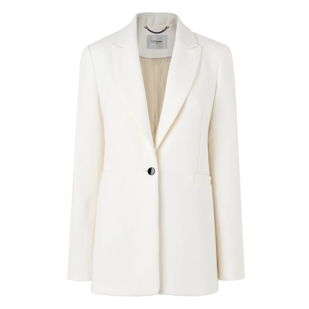 Blythe White Jacket