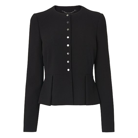 Evie Black Jacket