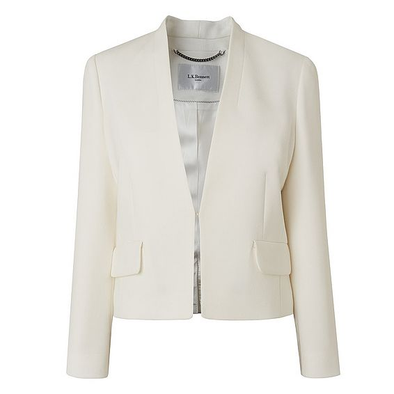 Rosie Cream Crop Jacket