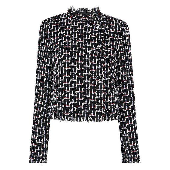 Vetti Black Tweed Jacket