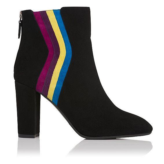 Serafina Black Suede Boot