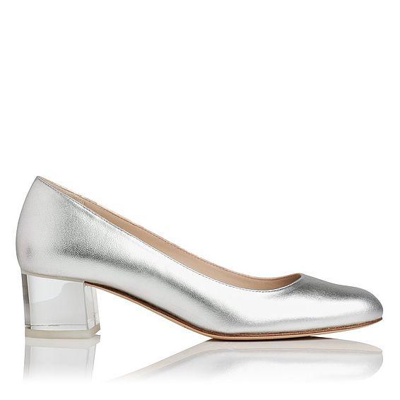 Arielle Metallic Heel